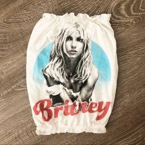 Tops - Britney Spears Custom Tube Top